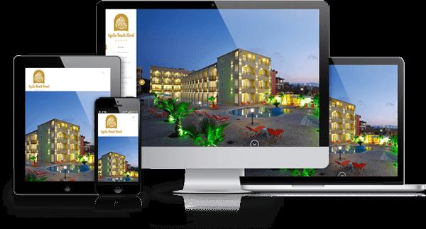 Agelia Beach Hotel Responsive