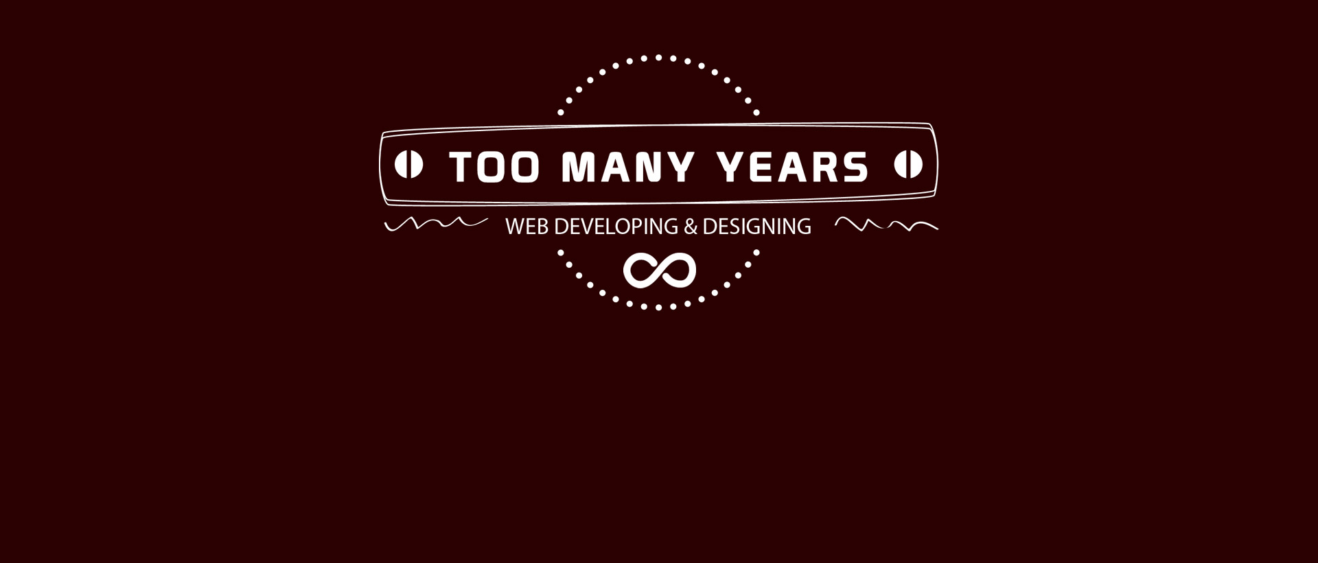 Too many Years logo