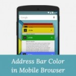 Address Bar Color