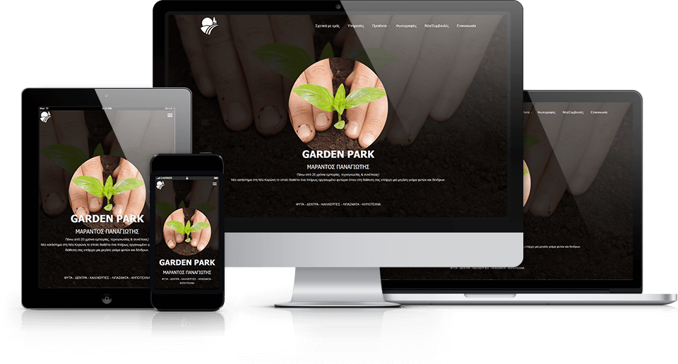 Garden Park Marantos - TMY Websites
