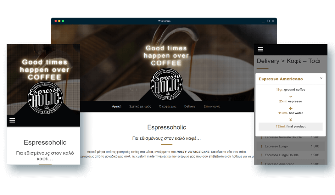 Espressoholic - TMY Websites